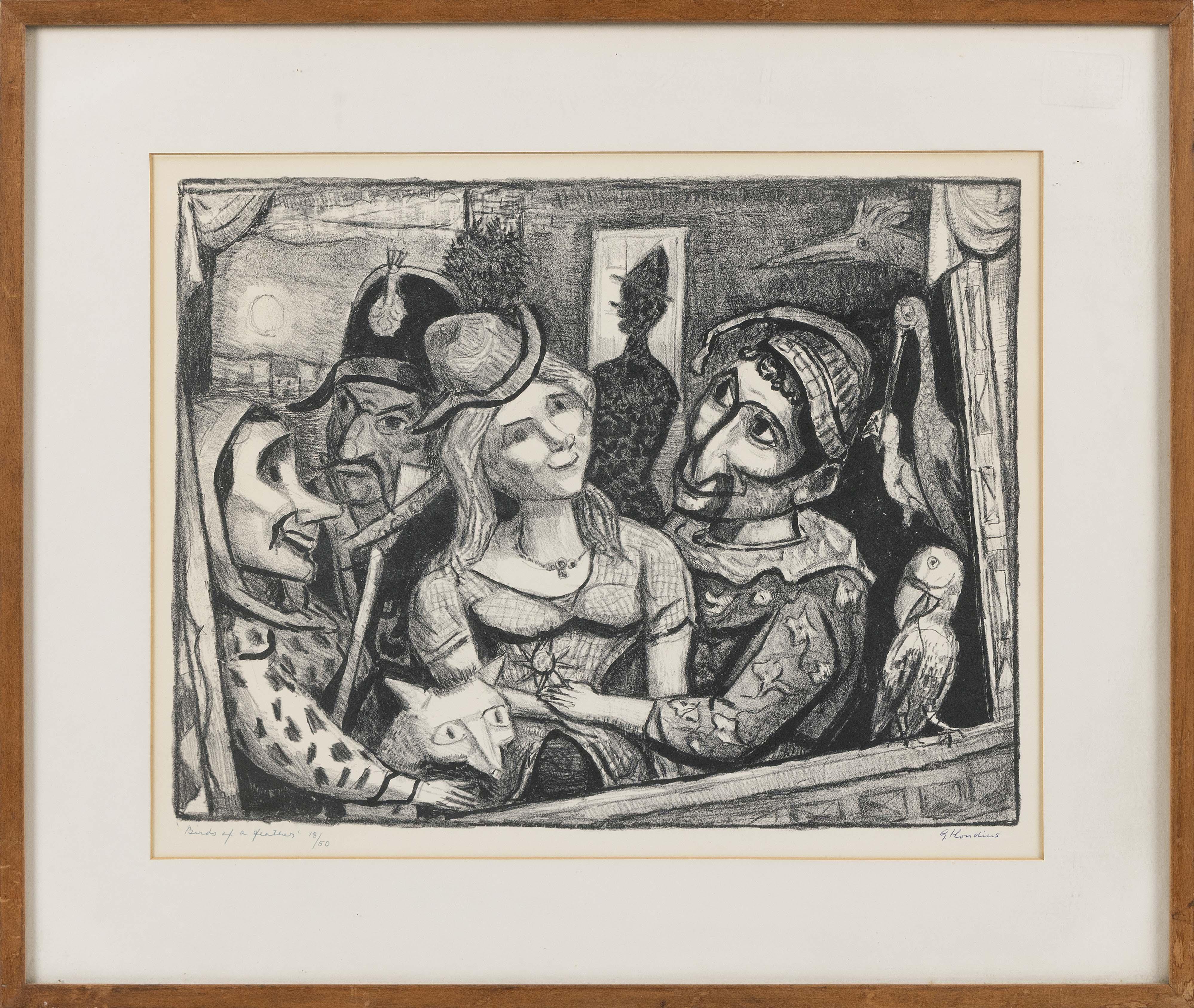 GERRIT HONDIUS (New York, 1891-1970),