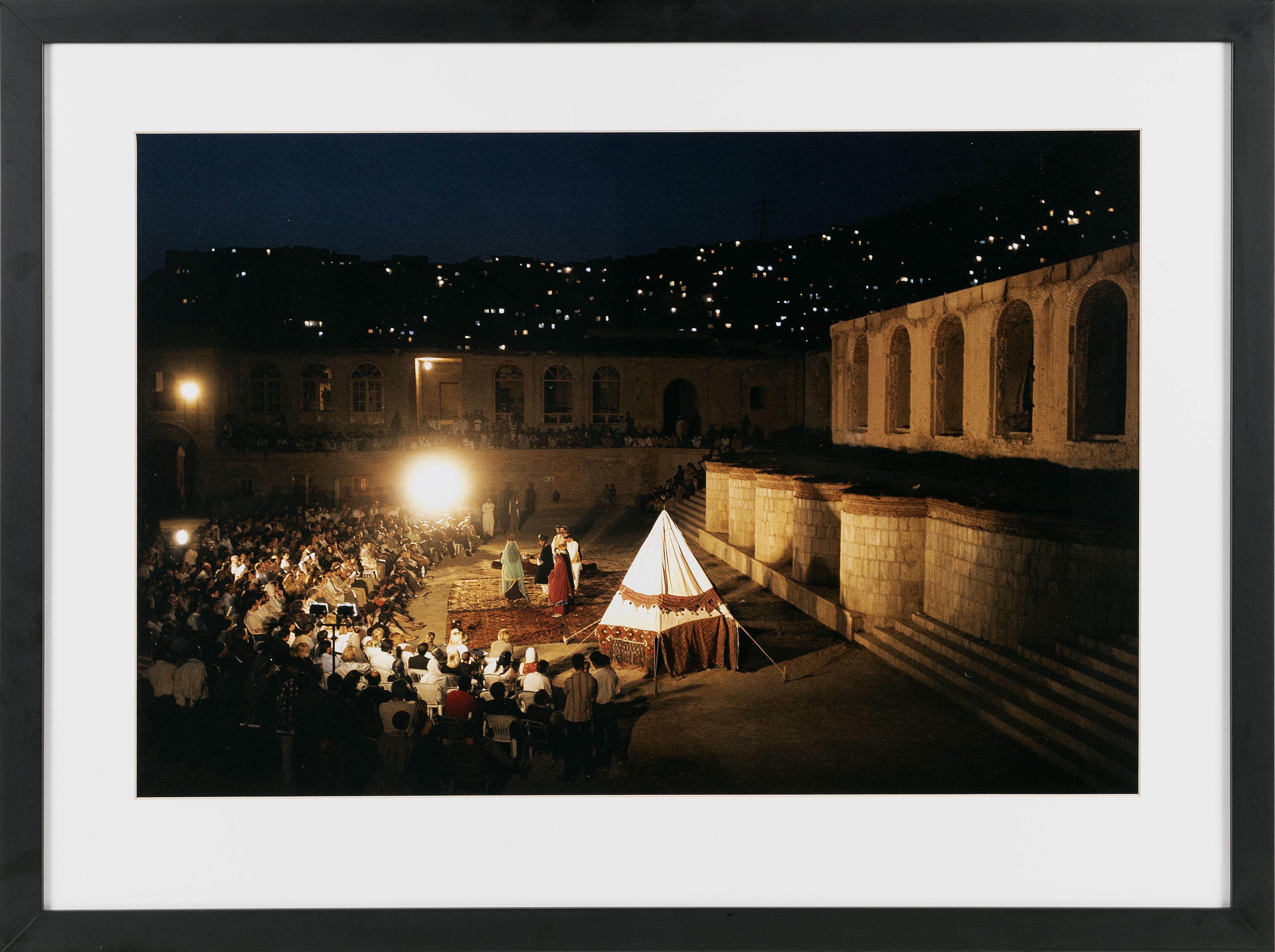FRAMED COLOR PHOTOGRAPH: SHAKESPEARE IN KABUL AP photo, circa 2005 18