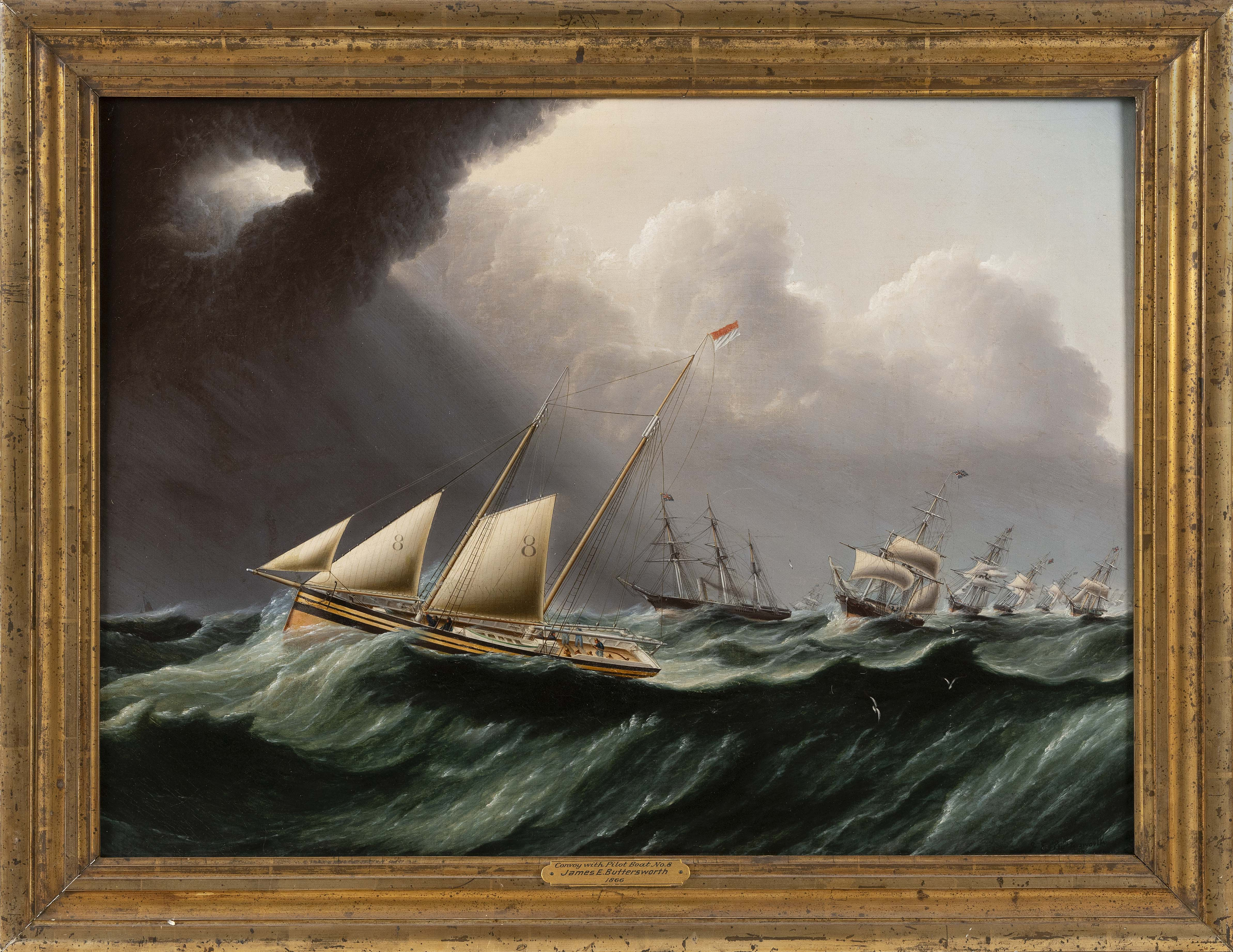 JAMES EDWARD BUTTERSWORTH (New Jersey/New York/England, 1817-1894),