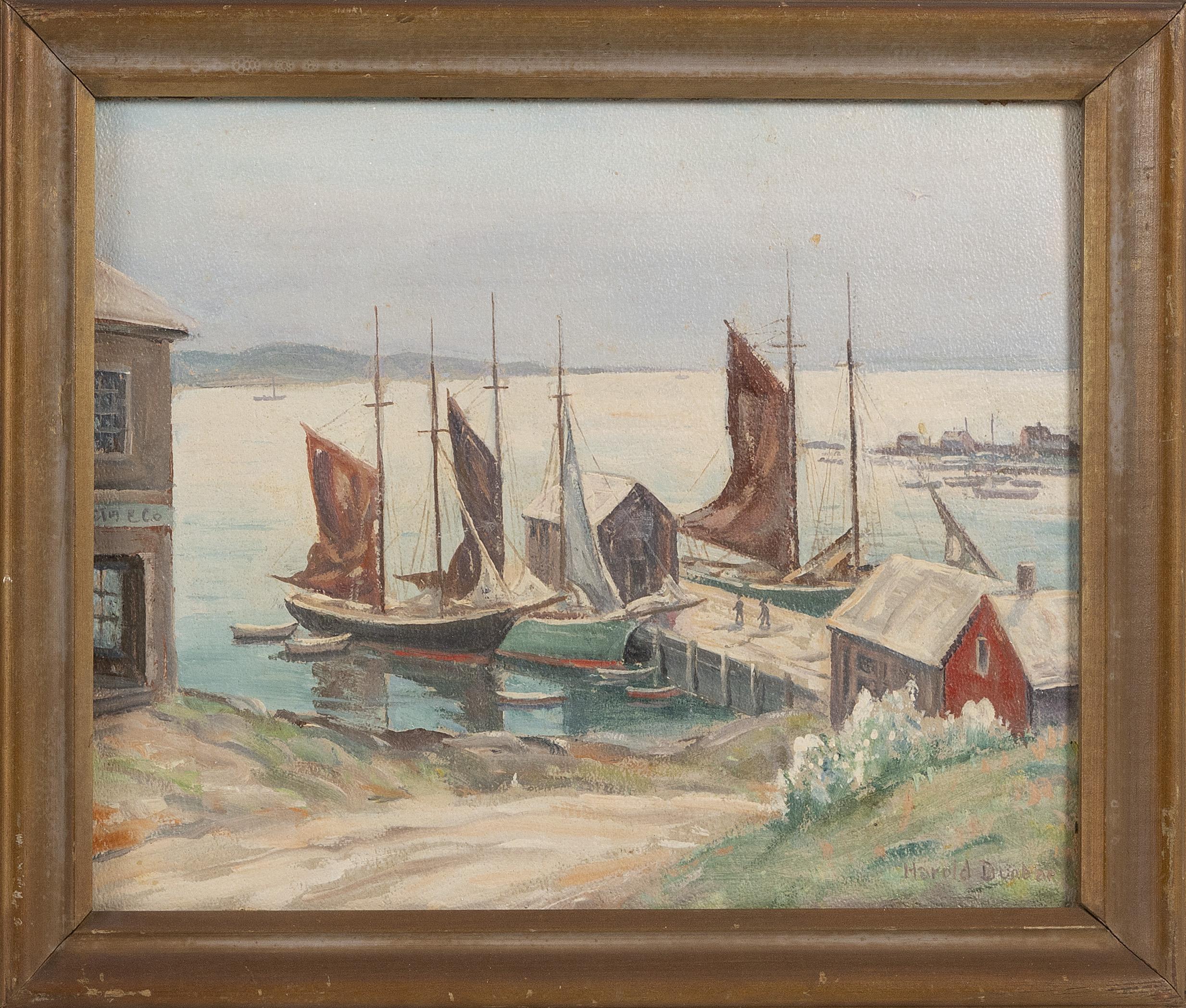 HAROLD DUNBAR (Massachusetts, 1882-1953),