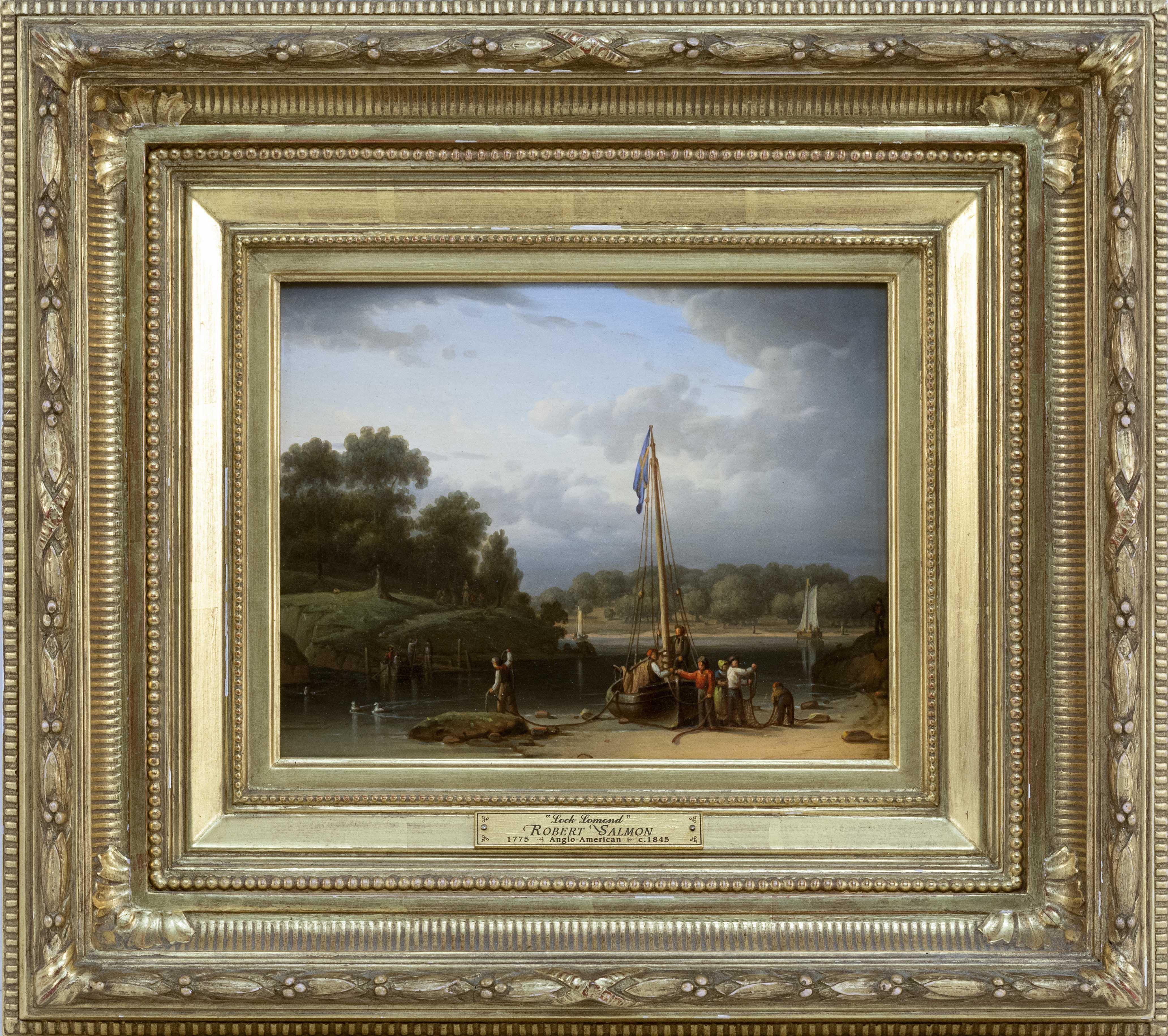 ROBERT SALMON (Massachusetts/United Kingdom, 1775-1848),