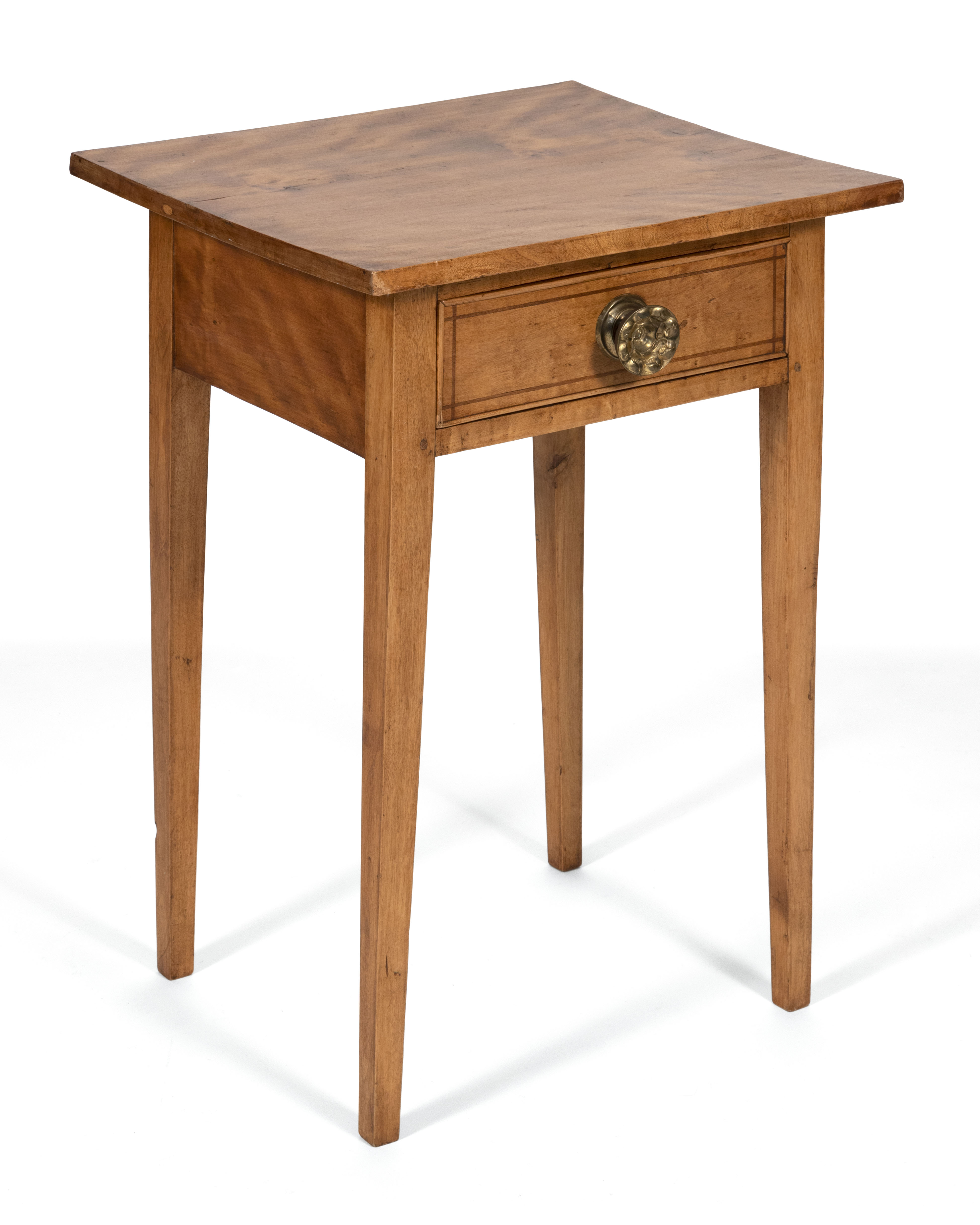 ONE-DRAWER STAND Circa 1810 Height 27.75
